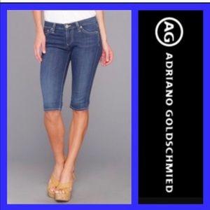 🌸 AG knee short jeans Malibu 27 R